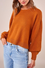 Sugarlips Balloon Sleeve Sweater - Side cropped