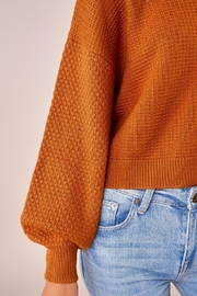 Sugarlips Balloon Sleeve Sweater - Back cropped