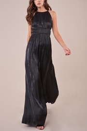 Sugarlips Black Cocktail Jumpsuit - Front full body