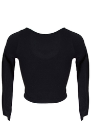 Sugarlips Black Cropped Top - Product Mini Image