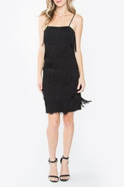 Sugarlips Black Fringe Dress - Product Mini Image