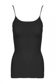 Sugarlips Black Ribbed Cami - Product Mini Image