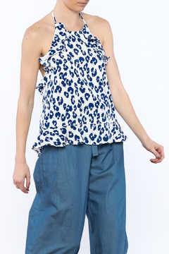 Shoptiques Product: Blue Halter Top