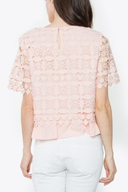 Sugarlips Blush Crochet Top - Other