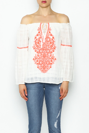 Sugarlips Brianna Boho Top - Front full body