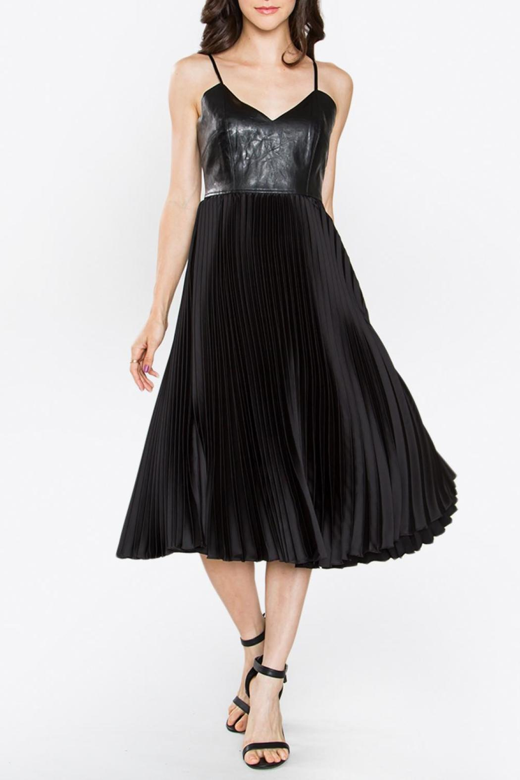 Sugarlips Bustier Pleated Dress - Main Image