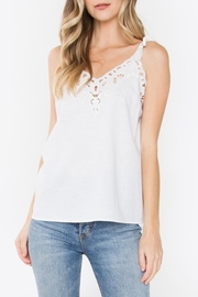 Sugarlips Callie Embroidered Tank - Front cropped