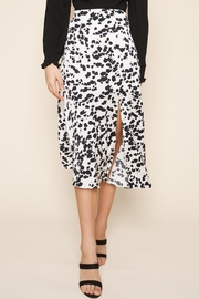 Sugarlips Dotted-Print Midi Skirt - Front cropped