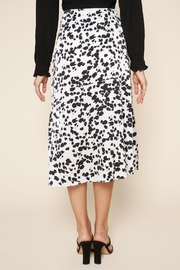 Sugarlips Dotted-Print Midi Skirt - Back cropped