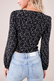 Sugarlips Floral Bustier Top - Side cropped
