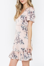Sugarlips Floral Silk Dress - Front full body