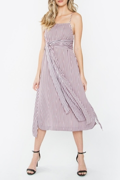 Sugarlips Front-Tie Midi Dress - Product List Image