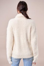 Sugarlips Fuzzy Turtleneck Sweater - Side cropped
