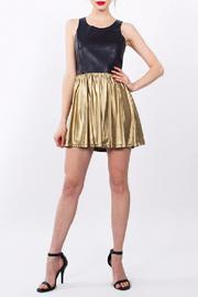 Sugarlips Gold Party Dress - Product Mini Image