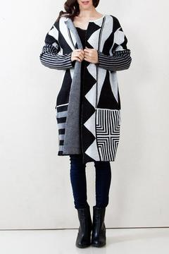 Shoptiques Product: Graphic Cardigan Sweater