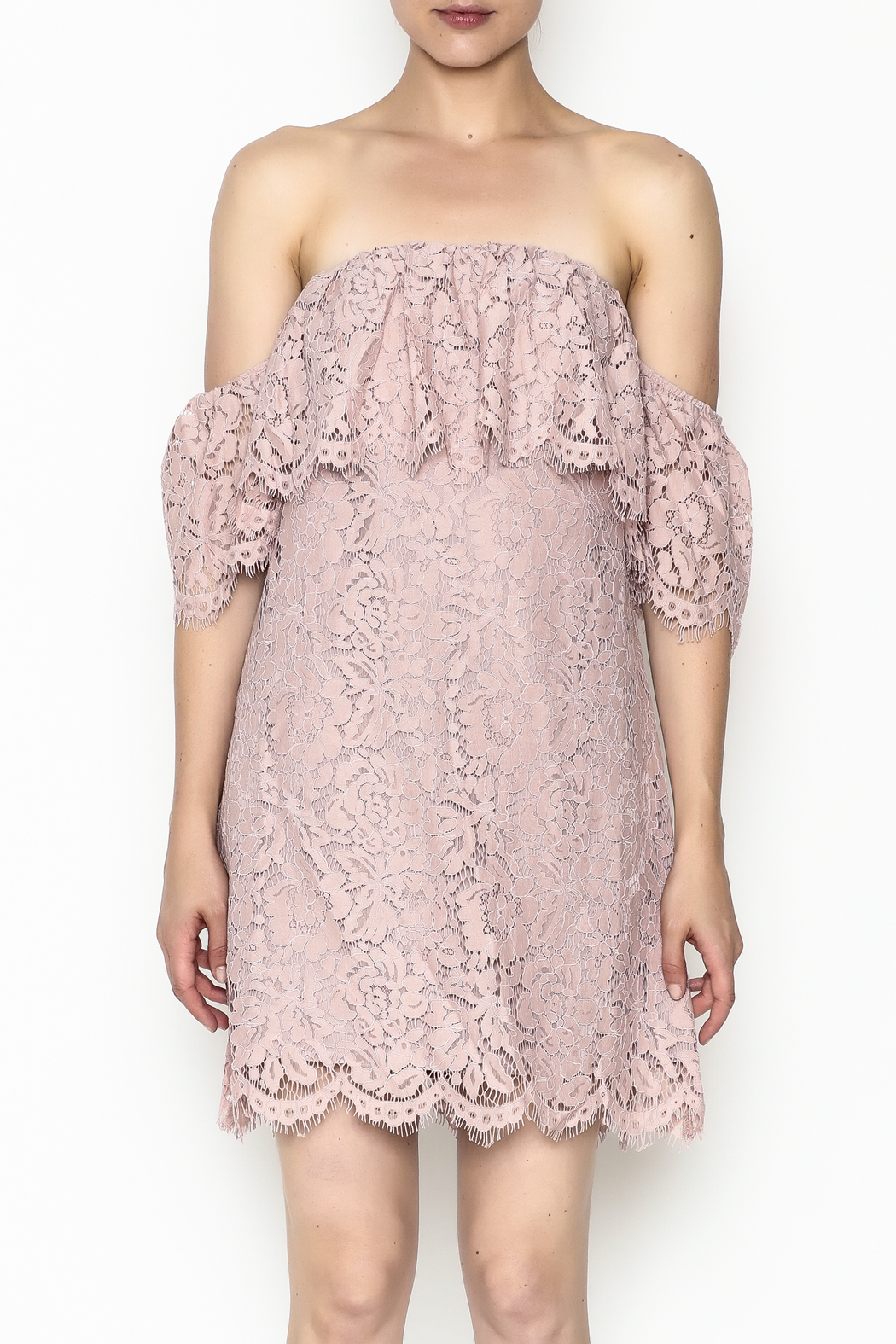 Sugarlips Hailey Lace Dress - Front Full Image