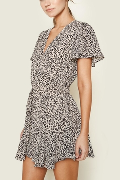 Sugarlips Leopard Drawstring Romper - Product List Image