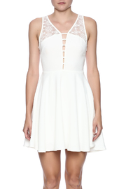 Sugarlips Lace Inset Dress - Side cropped