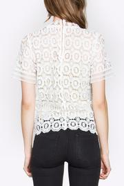 Sugarlips Lace Mock-Neck Top - Side cropped