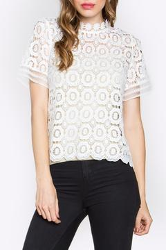 Sugarlips Lace Mock-Neck Top - Product List Image