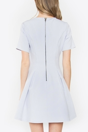 Sugarlips Lace-Up Fit-And-Flare Dress - Back cropped