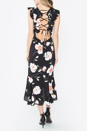 Sugarlips Lace-Up Floral Dress - Product Mini Image