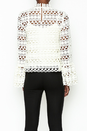 Sugarlips Leah Crochet Top - Back cropped