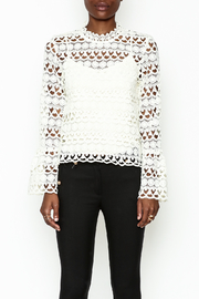 Sugarlips Leah Crochet Top - Front full body