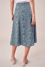 Sugarlips Leopard Midi Skirt - Back cropped