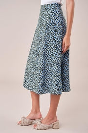 Sugarlips Leopard Midi Skirt - Front full body