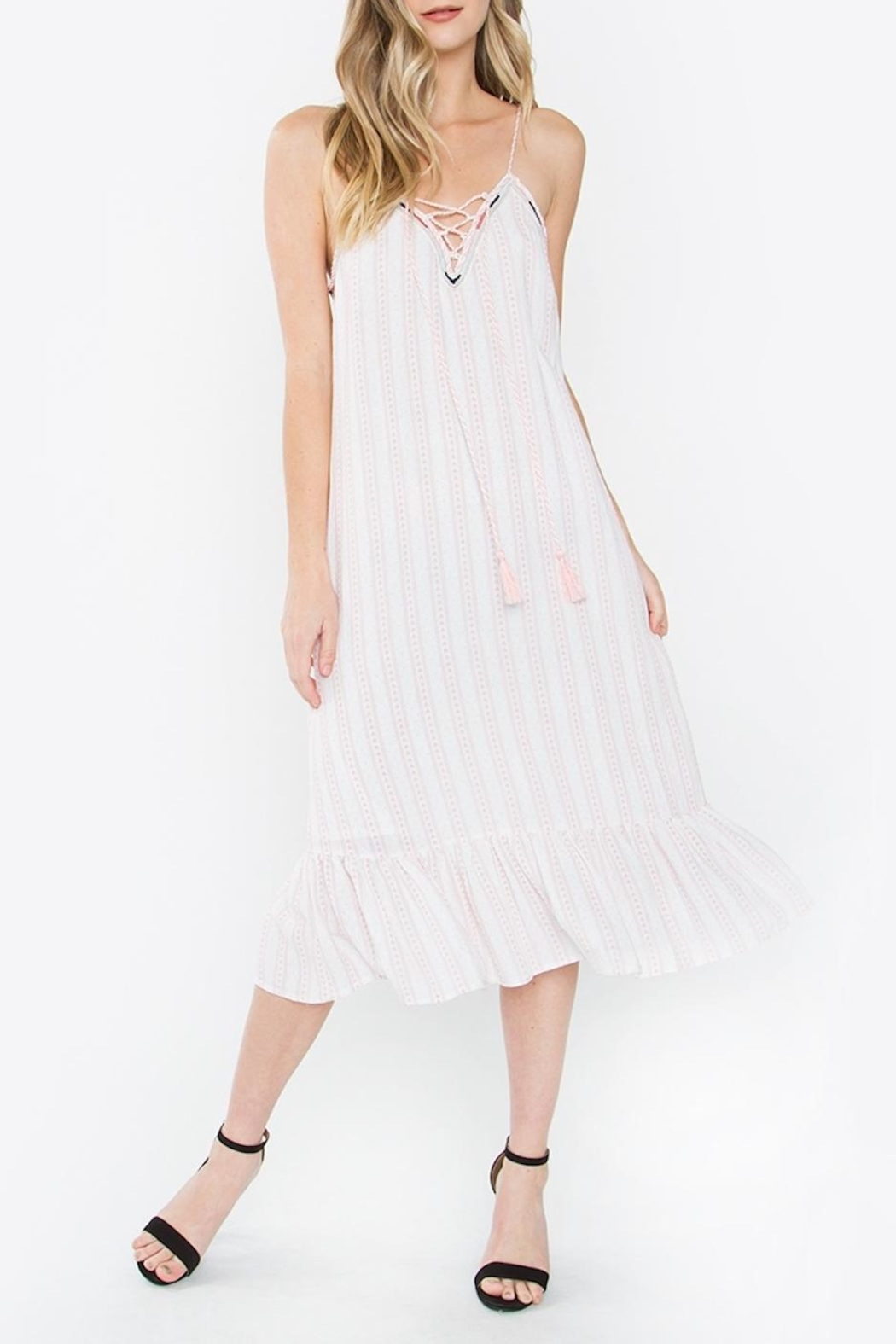 Sugarlips Libby Midi Dress - Front Cropped Image