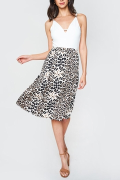 Sugarlips Luxe Leopard Skirt - Product List Image