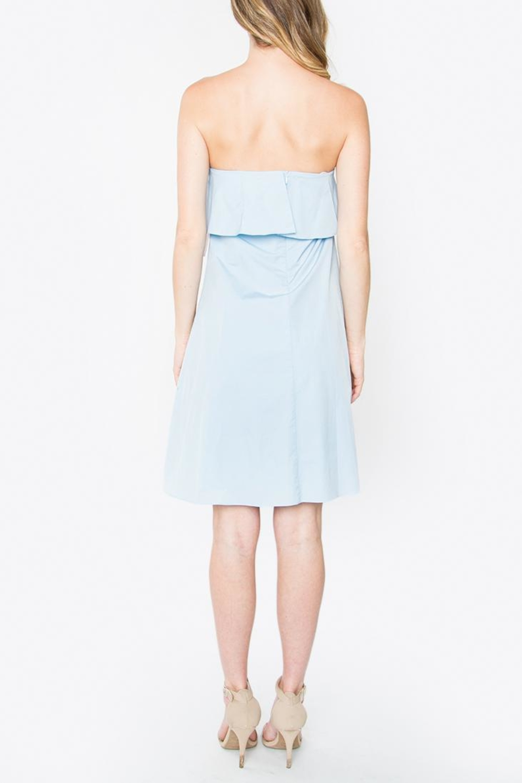 Sugarlips Martina Ruffle Dress - Side Cropped Image