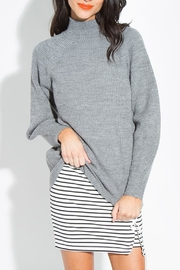 Sugarlips Mock Neck Sweater - Front cropped