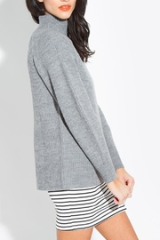 Sugarlips Mock Neck Sweater - Front full body