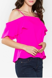Sugarlips Off Shoulder Top - Front full body