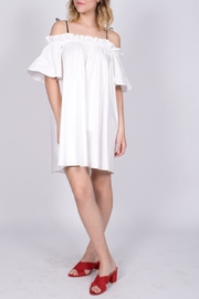 Sugarlips Off Shoulder Tie Dress - Product Mini Image