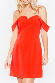 Sugarlips Red Off-Shoulder Dress - Product Mini Image