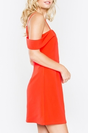 Sugarlips Red Off-Shoulder Dress - Side cropped