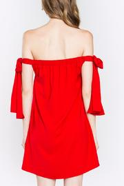 Sugarlips Red Tie Dress - Side cropped