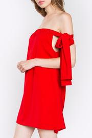 Sugarlips Red Tie Dress - Front full body