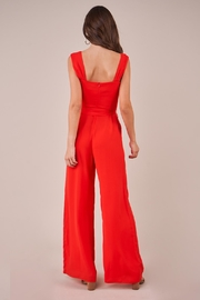 Sugarlips Red Wide-Leg Jumpsuit - Back cropped