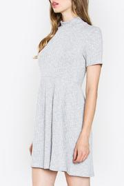 Sugarlips Ribbed Knit Dress - Front full body