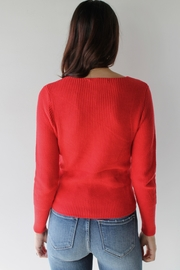 Sugarlips Ruby Sweater Top - Side cropped
