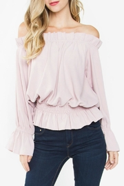 Sugarlips Ruffle Off-The-Shoulder Top - Front cropped