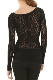 Sugarlips Seamless Lace Top - Side cropped