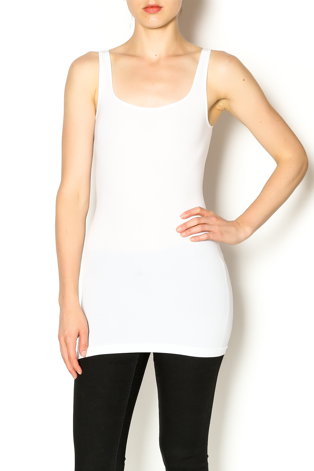 Sugarlips Seamless Tank Top - Front Cropped Image