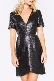 Sugarlips Sequin Cutout Dress - Product Mini Image