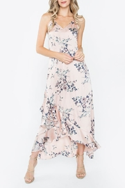 Sugarlips Silky Floral Maxi Dress - Product Mini Image