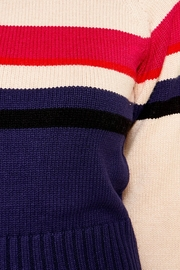 Sugarlips Striped Crew-Neck Sweater - Other